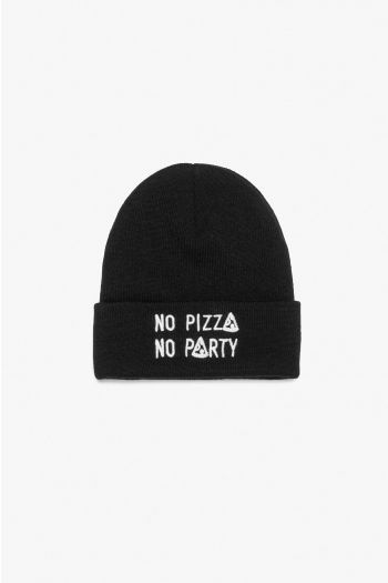 GORRO PLNS NO PIZZA NO PARTY