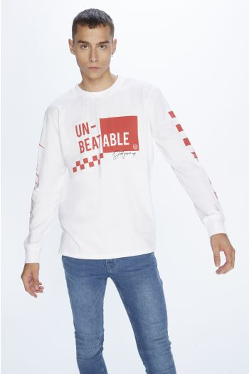 CAMISETA PLNS DAMERO ML UNBEATABLE