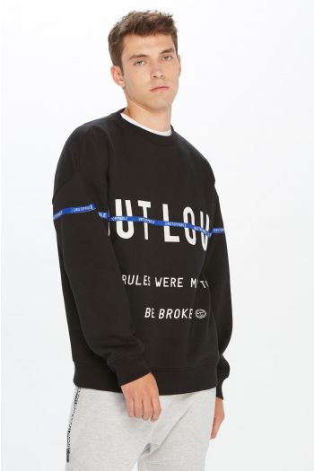 SUDADERA MODA PLNS OUT LOUD TAPE HOMBRE